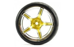 FASTRAX 5SP GOLD/CHROME WHEEL