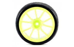 FASTRAX 10SP NEON YELLOW WHEEL